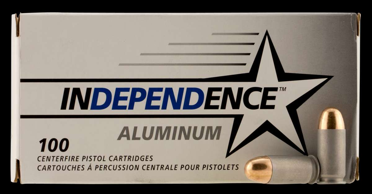 CCI IAL45230100 Independence 45 ACP 230 GR Full Metal Jacket 100 Bx/ 5 Cs