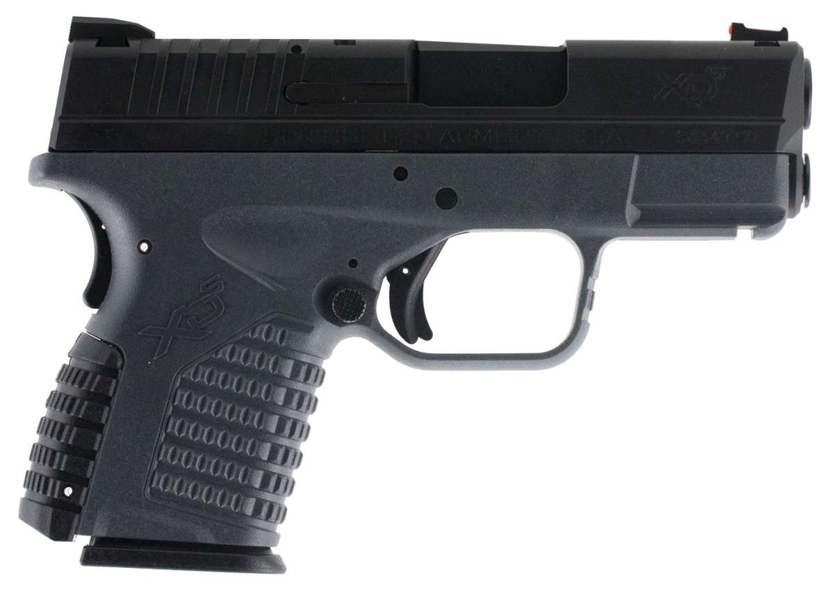 Springfield Armory XDS93345YB XD-S Double 45 Automatic Colt Pistol (ACP) 3.3