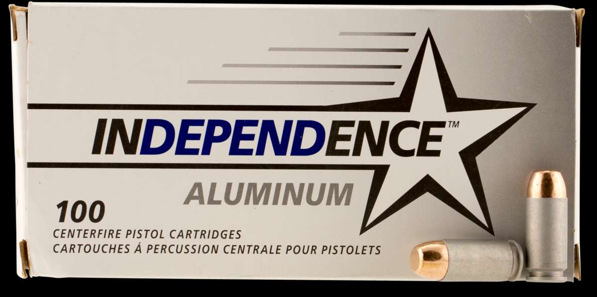 CCI IAL40180100 Independence 40 S&W 180 GR Full Metal Jacket 100 Bx/ 5 Cs